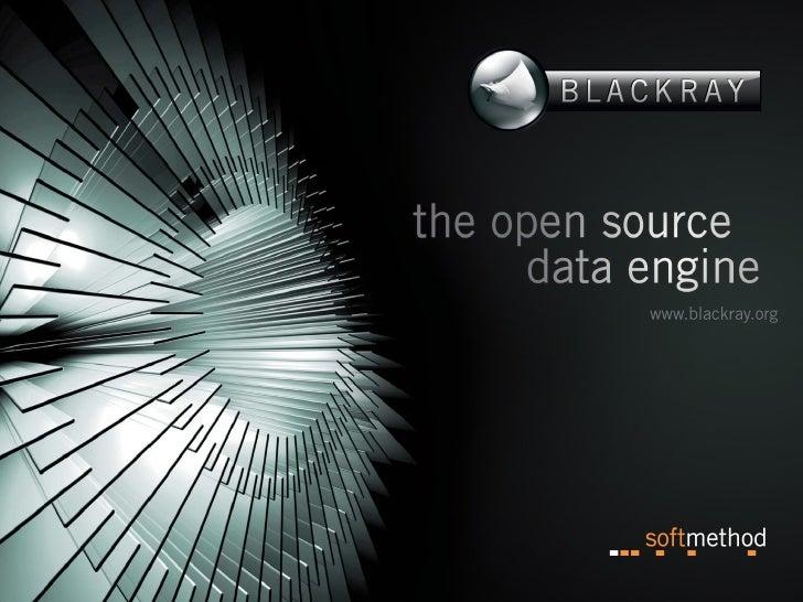 The Adventure: BlackRay as a Storage Engine