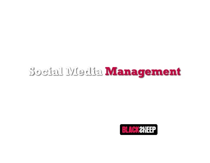 Social Media Management with Black Sheep Agency