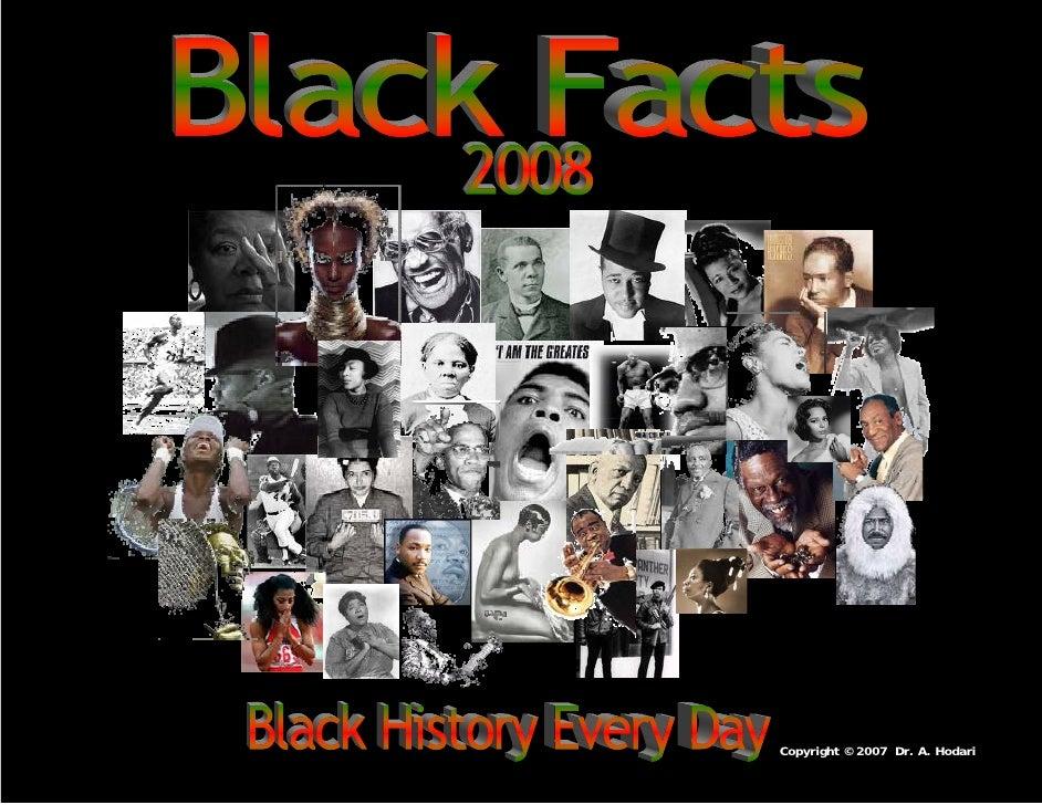 Black Studies Calendar 2008