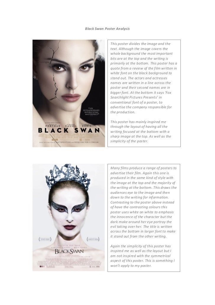 black swan film analysis Black swan theory: we know absolutely nothing & the finding of atypical events optimization-method  ex-post explanations are the result of a thorough analysis of.