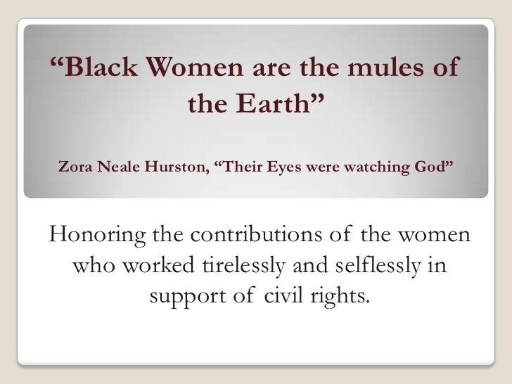 Black women civil rights talk