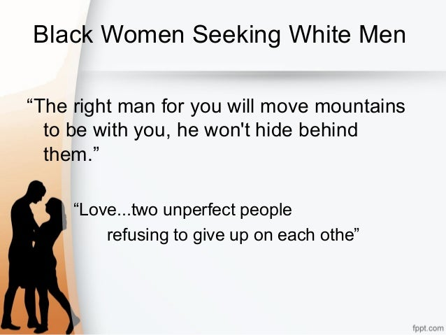 white women looking for white men