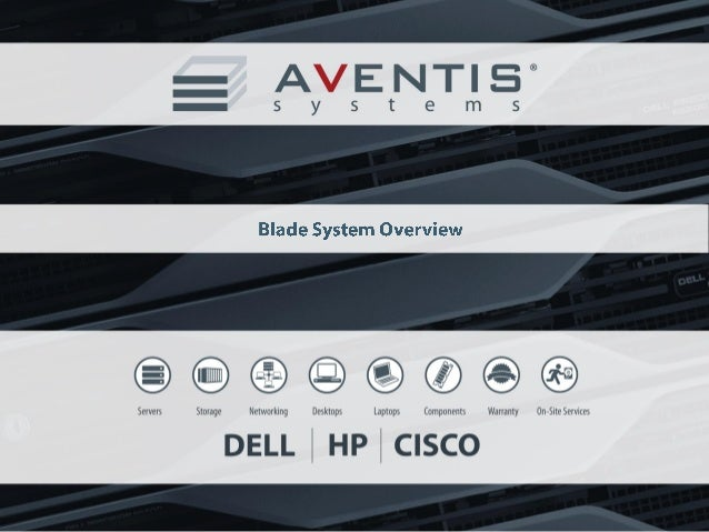 Agenda I. Blade Servers  II. Benefits of Blade Servers III. What's Inside?  IV. Types: Dell & HP V. Functionality  VI. Con...