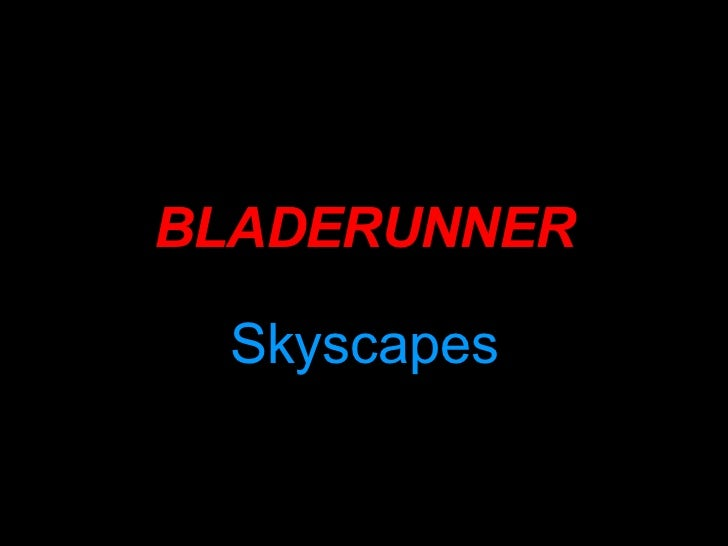 Bladerunner Screenshot Analysis