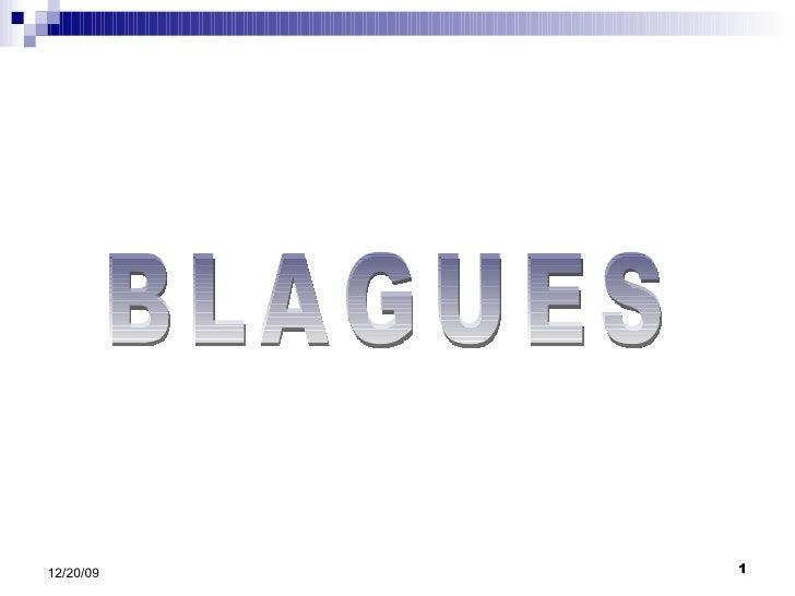 BLAGUES