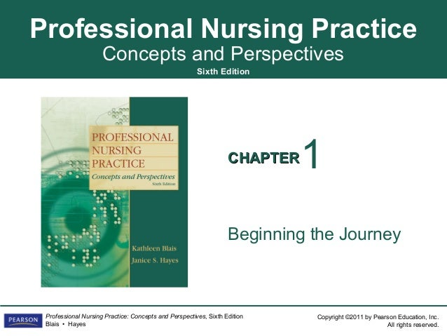 Professional Nursing Practice                     Concepts and Perspectives                                               ...