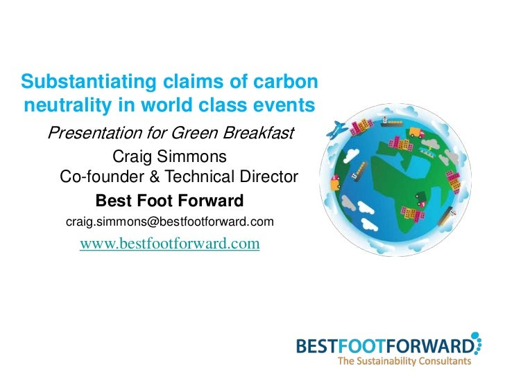 Blake Lapthorn South Coast green breakfast - carbon neutral world class events - southampton - 13 March 2012