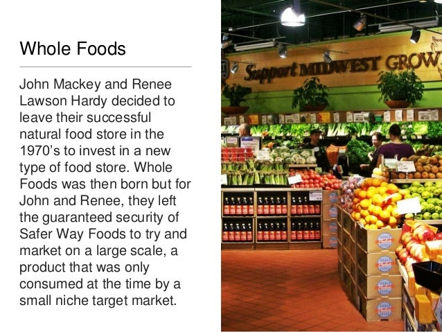 Renee Hardy Whole Foods