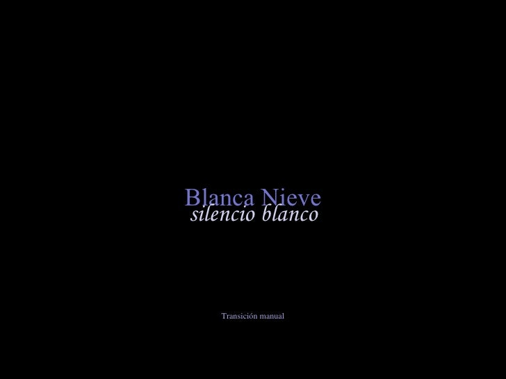 Blanca Nieve (por: carlitosrangel)