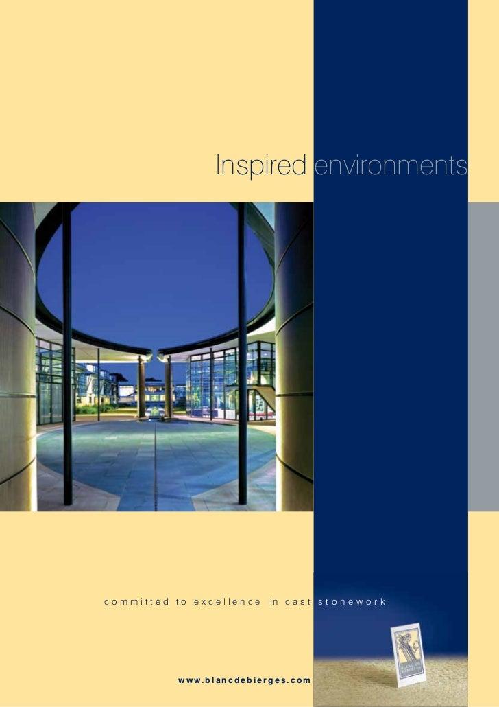 Blanc De Bierges Range Brochure 2012