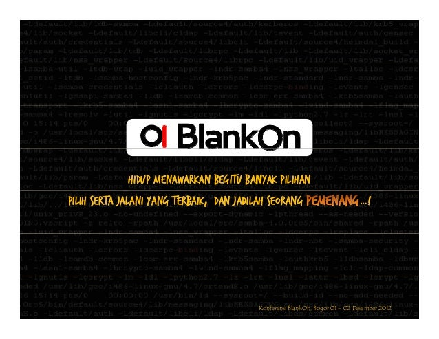 SAMBA4-BLANKONF2012