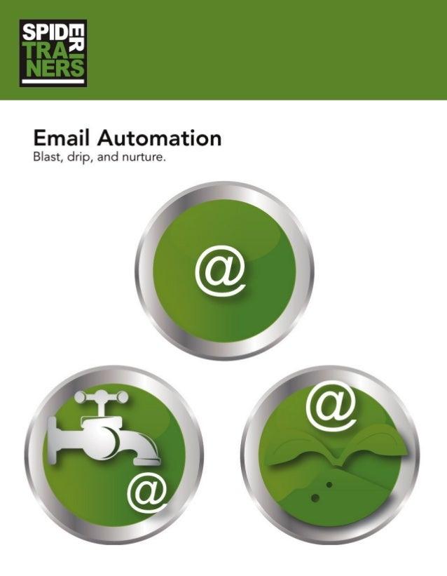 Blast, Drip, and Nurture Automated Marketing