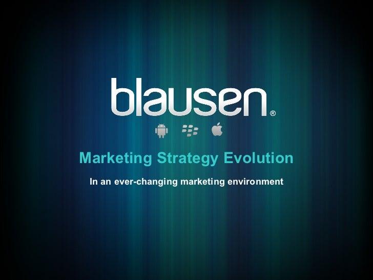 Blausen Strategic Marketing Evolution -Web to Mobile Medical Apps