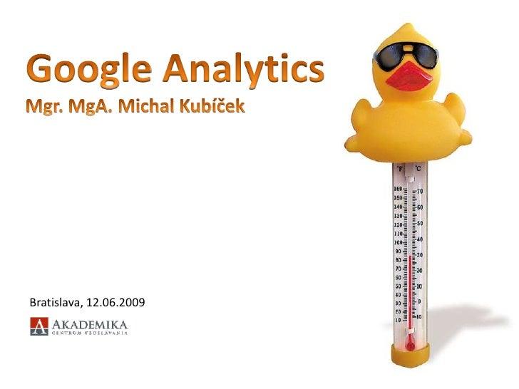 Jak na Google Analytics
