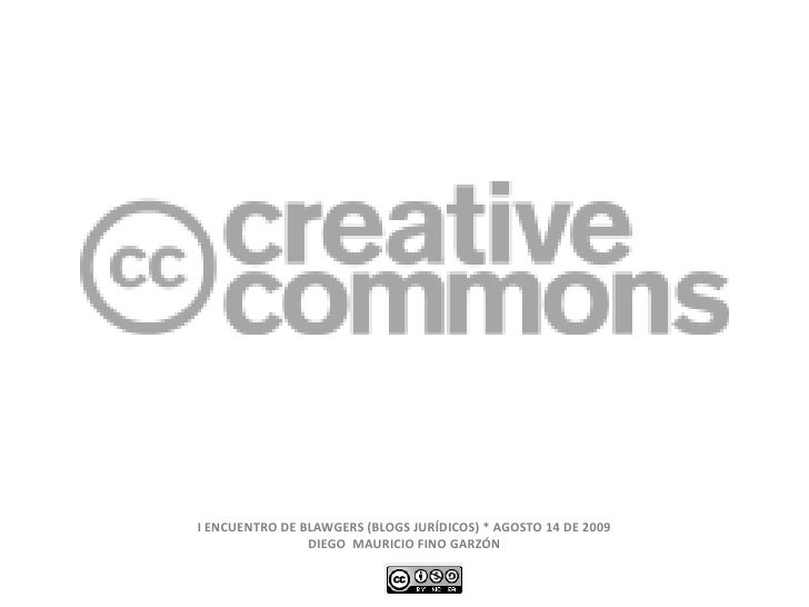 Creative Commons y Web 2.0 (Encuentro Blawgers)