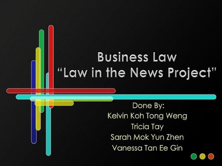 Poly Business Law Presentation
