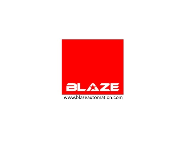 Blaze automation   careers  2012