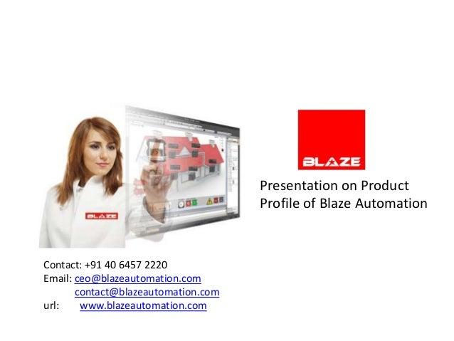 Blaze automation profile march 2012