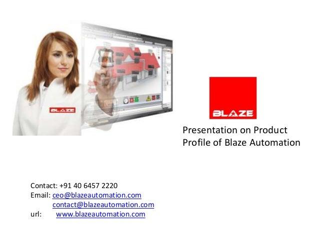 Blaze automation profile may 2012