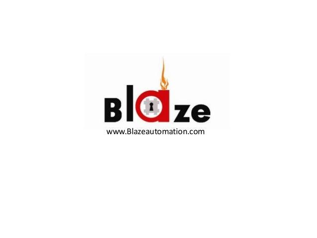 Blaze automation projects 2008