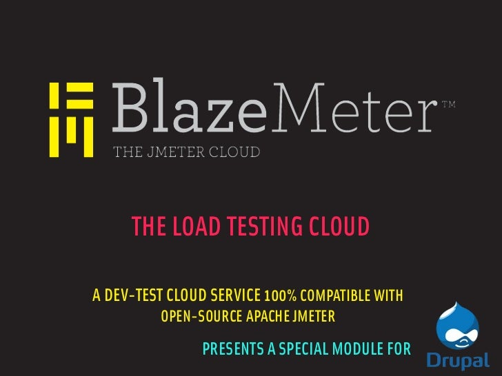BlazeMeter Presents at the High Performance Drupal Meetup