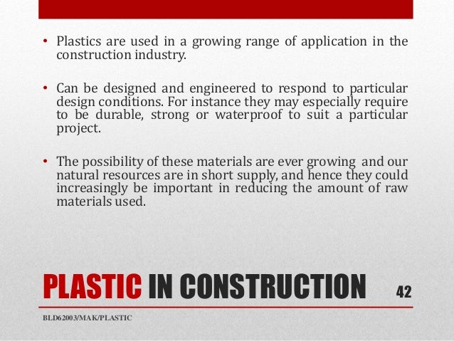 What Natural Resources Could Be Used In Place Of Plastic