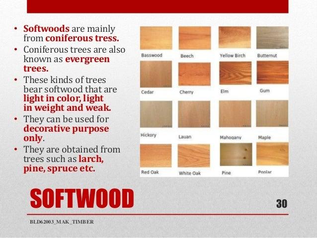 Bld timber mak