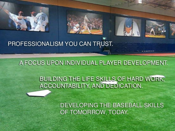 BIG LEAGUE EDGEPROFESSIONALISM YOU CAN TRUST.   A FOCUS UPON INDIVIDUAL PLAYER DEVELOPMENT.         BUILDING THE LIFE SKIL...