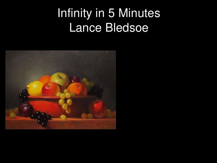 Infinity in 5 Minutes  Lance Bledsoe