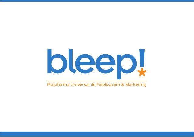 Plataforma Universal de Fidelización & Marketing