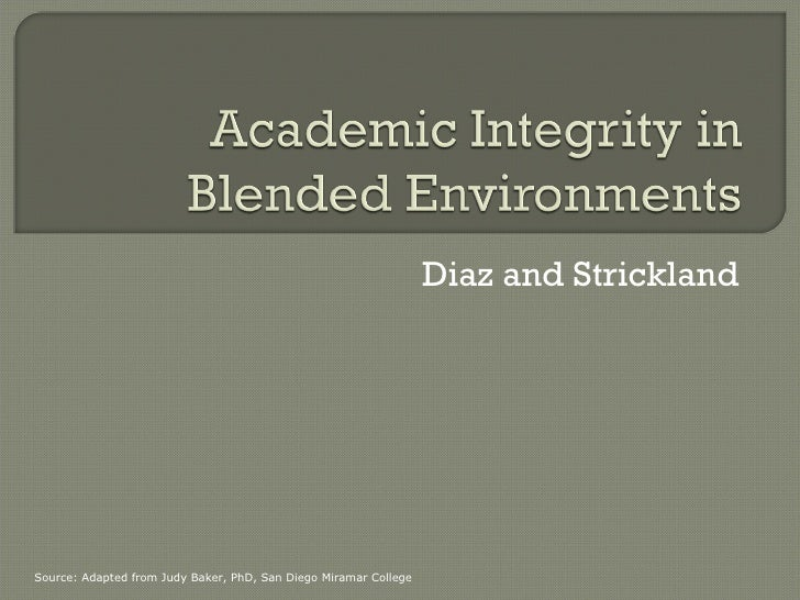 Diaz and Strickland Source: Adapted from Judy Baker, PhD, San Diego Miramar College