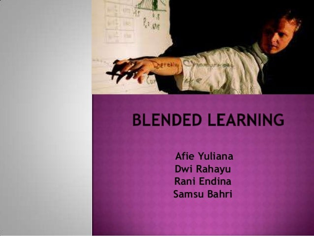 Blended Learning group presentation in my  ICT class