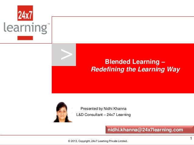 www.24x7learning.com © 2013, Copyright, 24x7 Learning Private Limited. > © 2013, Copyright, 24x7 Learning Private Limited....