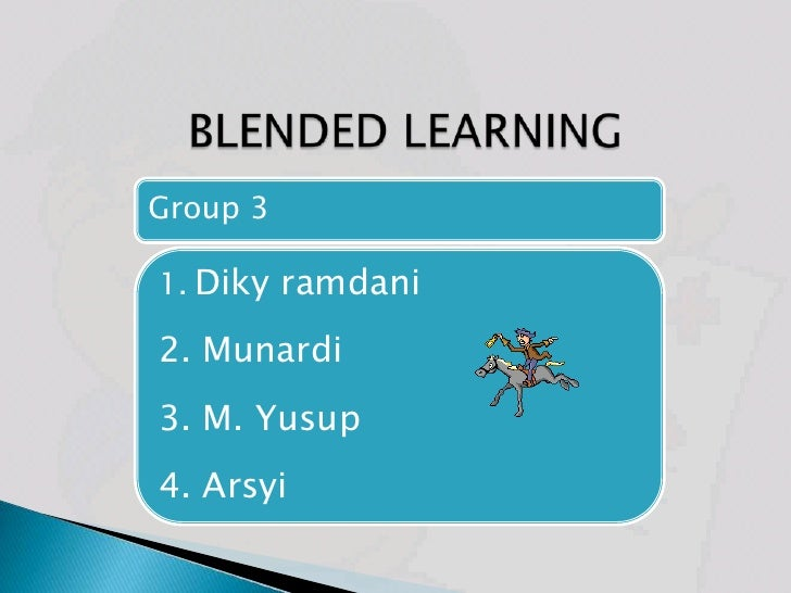 Blended learning all