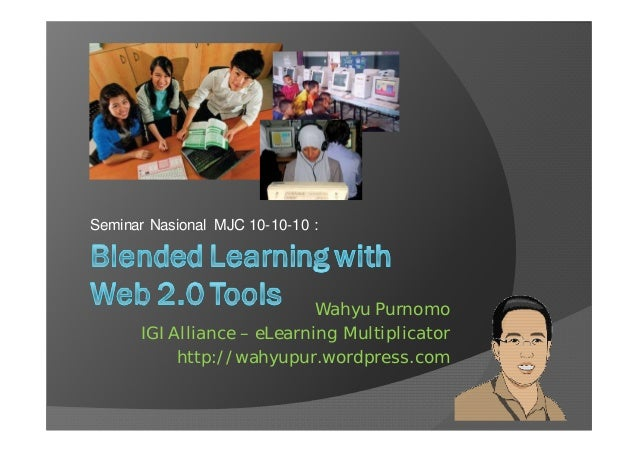 Blended learning with web 2 clr
