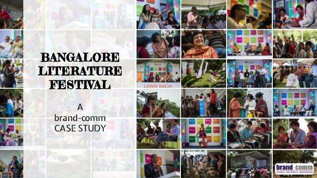 brand-comm digital marketing case study: Bangalore Literature Festival