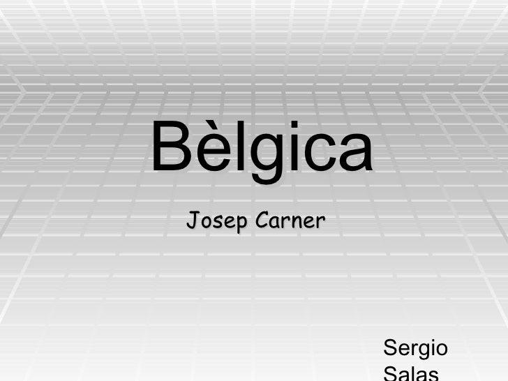 Bèlgica Josep Carner Sergio Salas Calvo