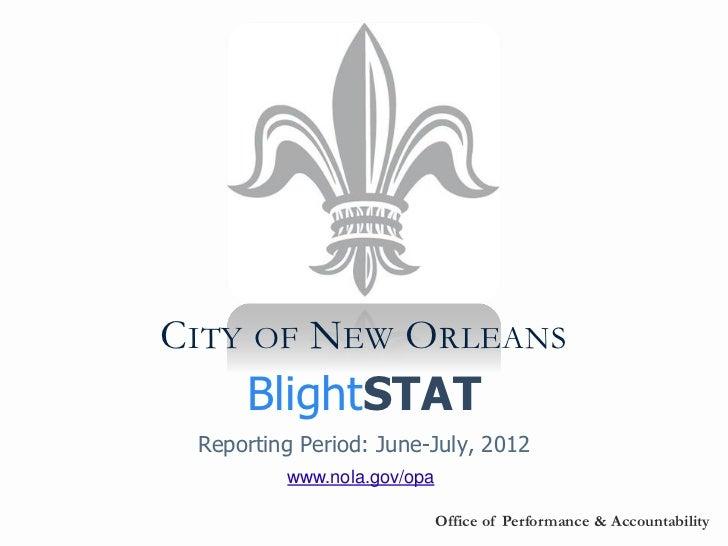 BlightSTAT August 9, 2012