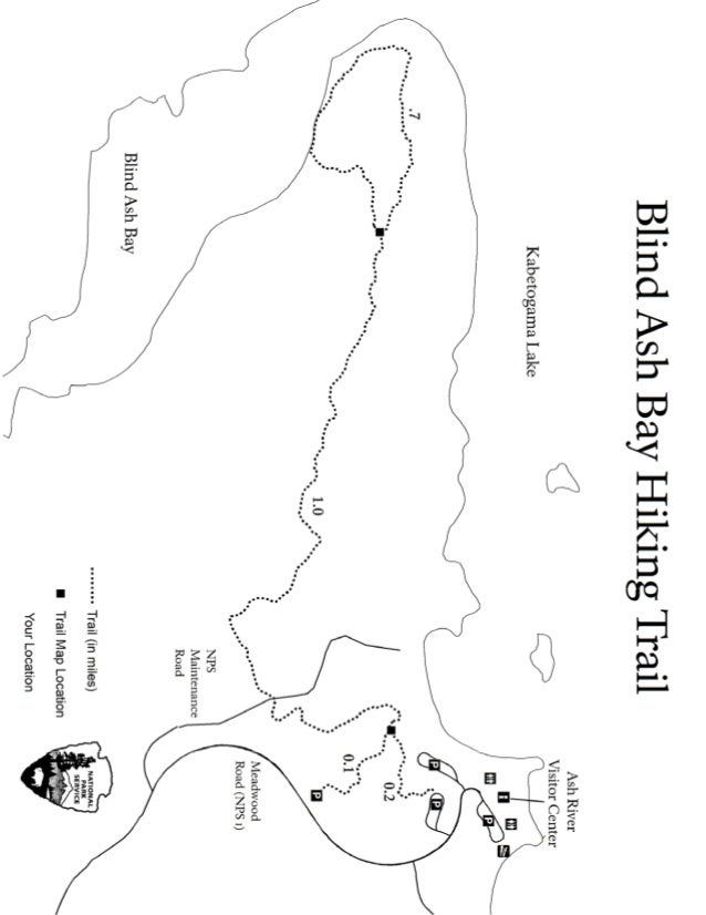NostalgicOutdoors™- Voyageurs National Park- Blind Ash Bay Hiking Trail