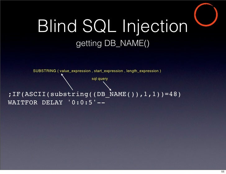 Sql injection penetrate