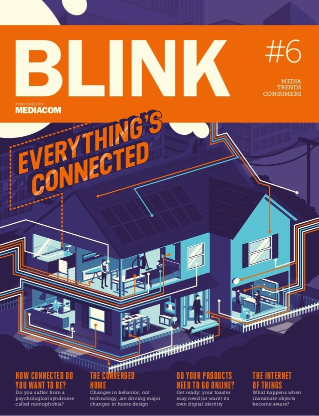 Blink #6 - The Connected Issue: Media / Trends / Consumers