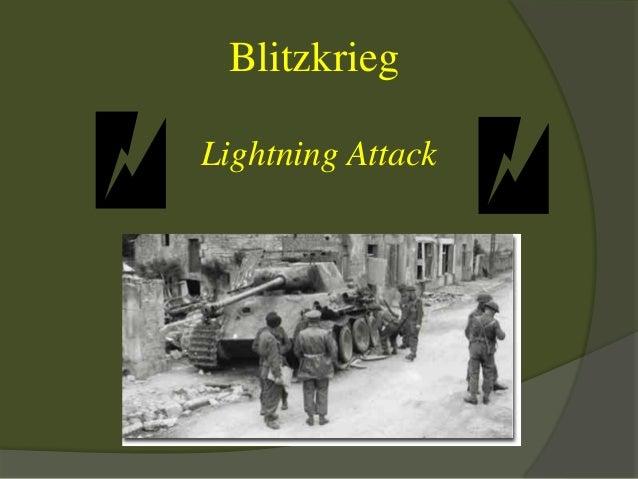 Blitzkrieg Lightning Attack