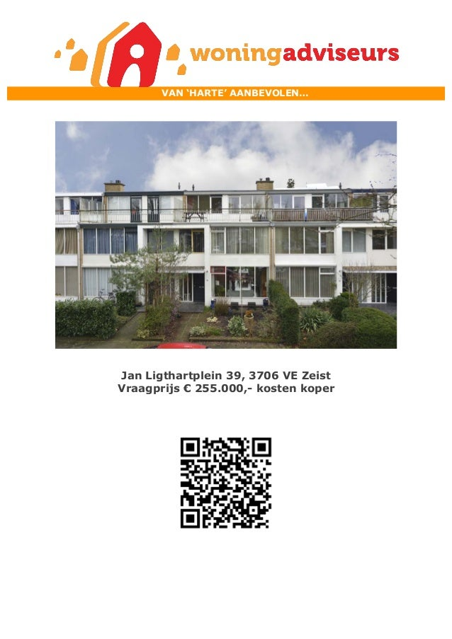 Brochure Jan Ligthartplein 39 te Zeist