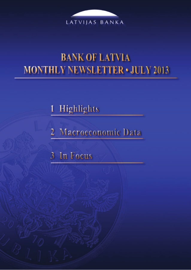 Monthly Newsletter 7/2013