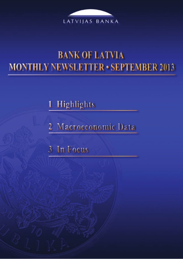 Monthly Newsletter 9/2013