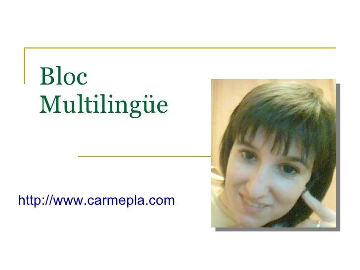 Bloc Multilingüe