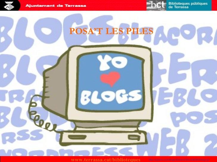 Fes el teu bloc