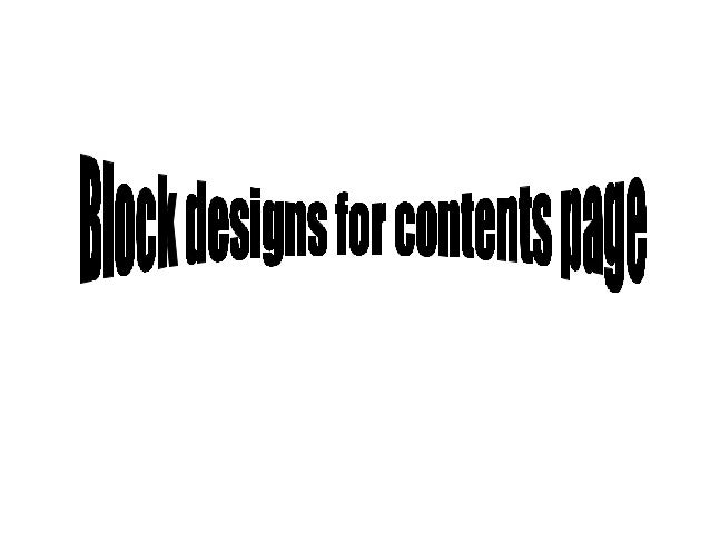 Title Writing in a column with Page numbers Main image of Celebrity or model