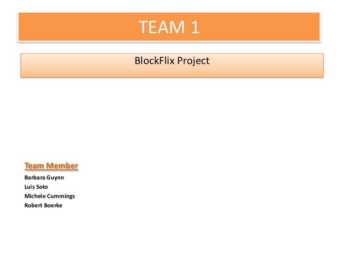 Block flixpresentation