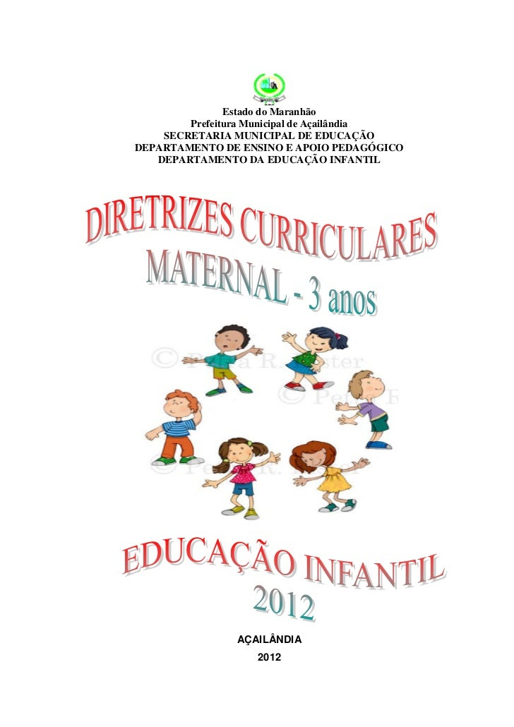Bloco de conteúdo anual maternal 2012